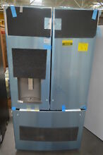 GE DFE28JSKSS 36  Stainless French Door Refrigerator NOB  25538 HL