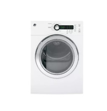 GE DCVH480EKWW 24  White Front Load Electric Dryer NOB  25482 HL