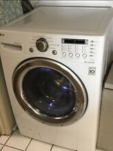 Lg Wm3987HW washer dryer all in one unit combo 120v ventless 27  wide  Albany NY