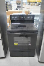 Whirlpool WFE320M0EB 30  Black Freestanding Electric Range NOB  26028 CLW