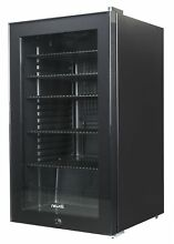 NewAir AB 1200B 126 Can Freestanding Beverage Cooler  126 Can  All Black