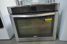 Whirlpool WOS51EC0AS 30  Stainless Single Electric Wall Oven NOB  26050 HL