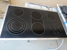 KITCHENAID ARCHITECT II SERIES  KECC568R 36  TOUCH CONTROL COOKTOP  5 BURNER