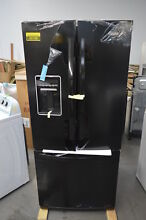 Whirlpool WRF560SEYB 30  Black French Door Refrigerator NOB  26168 HL