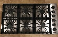 Viking Professional 5 Series 36  6 Sealed Burners SS Gas Cooktop VGSU1616BSS