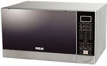 RCA 1 1 Cubic Feet Stainless Steel Microwave Oven