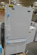 Maytag MBF1958FEW  30  White Bottom Freezer Refrigerator NOB  26141 HL