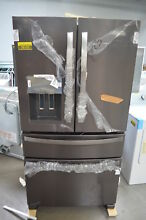 Whirlpool WRX735SDHV 36  Black Stainless French Door Refrigerator NOB  26152 HL