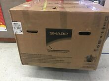 Sharp 24 in 1 2 cu ft  Built in Microwave Drawer in Stain Steel with Sensor Cook