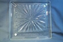 Square Microwave Glass Tray For Old Amana Radar Range 14 5  x 13 5  Excellent  2