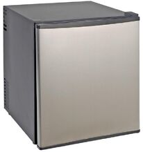 Superconductor Mini Refrigerator 1 7 cu  ft Compact Stainless Steel No Freezer