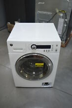 GE WCVH4800KWW 24  White Front Load Washer 2 2 Cu Ft  NOB  26261 CLW