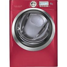 Electrolux EWMGD70JRR 27  Red Front Load Steam Gas Dryer NIB  9602 NEW