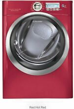 Electrolux EWMGD70JRR 27  Red Front Load Steam Gas Dryer NIB NEW  8664 WLK