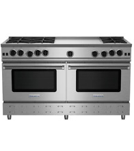 BlueStar RNB606GV2 60  Stainless Freestanding Natural Gas Range NOB  24143