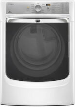 Maytag MED7000AW 27  White Front Load Electric Steam Dryer NIB  8466