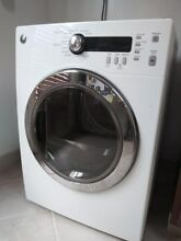 USED  GE White Stackable Electric Dryer  Model DCVH480EKOWW
