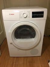 NEW Bosch Electric Dryer  WTG86400uc ventless apartment size 240 volts 24