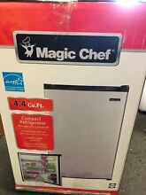 Magic Chef 4 4 cu  ft  Mini Refrigerator in Stainless Look  T863