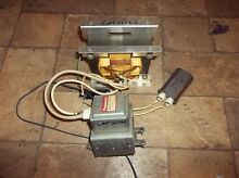 THERMADOR CMT227 microwave magnetron 00486742  486742    Transformer 14 29 433