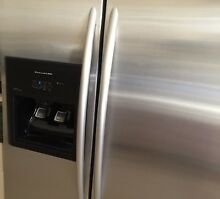 KitchenAid Superba Architect Side By Side Refrigerator Freezer  Stainless Steel