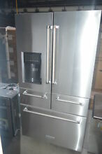 KitchenAid KRMF606ESS 36  Stainless French Door Refrigerator NOB  26746 HL