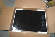 Whirlpool W5CE3024XB 30  Black Smoothtop Electric Cooktop NOB  26749 HL