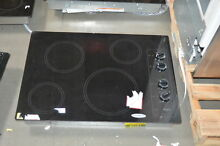 Whirlpool W5CE3024XB 30  Black Smoothtop Electric Cooktop NOB  26756 HL
