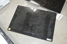 Whirlpool G9CE3065XB 30  Black Smoothtop Electric Cooktop NOB  27407 HL