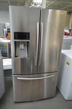 Samsung RF28HFEDBSR 36  Stainless French Door Refrigerator NOB  27583 HL