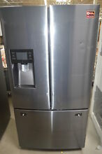 Samsung RF263BEAESG 36  Black Stainless French Door Refrigerator NOB  27599 CLN