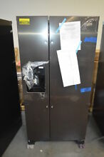 Whirlpool WRS321SDHV 33  Black Stainless Side by Side Refrigerator NOB  27625 HL