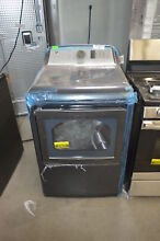 GE GTD75ECPLDG 27  Diamond Gray Front Load Electric Dryer NOB  27628 WLK