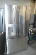 GE GFD28GSLSS 36  Stainless French Door Refrigerator NOB  27641 HL