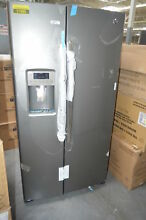 GE GSS25GMHES 36  Slate Side by Side Refrigerator NOB  27655 HRT