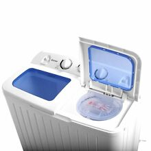 Compact Washing Machine Cleaner and Dryer Apartment Washer Combo Portable