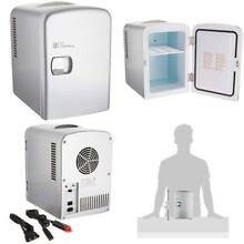 Portable Mini Fridge For Bedroom Office Travels Cooler And Warmer Refrigerator