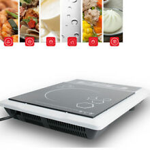 110V Digital Electric Induction Cooktop Countertop Burner Cooker Safe Use