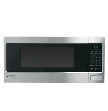 GE ZEM115SFSS 24  Stainless Countertop Microwave 1 1 Cu Ft  NOB  27742 HL