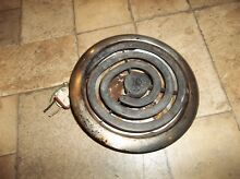 FITS Vintage 1955 Thermador SU4 cooktop  8  coil heating element   ring   pan