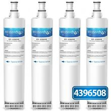 4 Pcs Water Drop Replacement Refrigerator Water Filter w  Whirlpool Kenmore New