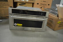 KitchenAid KMBP100ESS 30  Stainless Built In Convection Microwave NOB  27830 HL