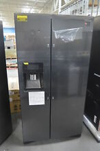 Samsung RS25J500DSG 36  Black Stainless Side by Side Refrigerator NOB  27921 HL