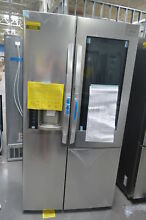 LG LSXC22396S 36  Stainless Side by Side Refrigerator NOB CD  27923 CLW