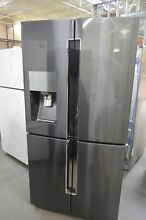 Samsung RF23J9011SG 36  Black Stainless French 4 Door Refrigerator NOB  27927 HL
