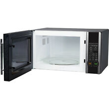 Magic Chef 1 1 cu  ft  Digital Microwave  Stainless Steel 1000watt With Oven
