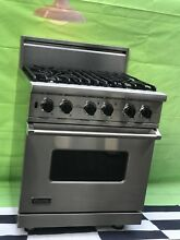 Viking Range Pro 30  model VGSC530 4BSS  All Gas  large oven  4 sealed Burners