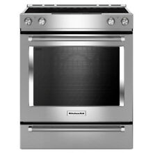 KitchenAid KSEG700ESS 30  6 3CF Convection Electric Range Stainless Steel