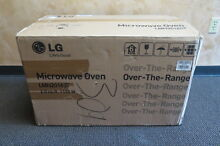 LG LMH2016ST Over the Range 2 Cubic ft  Capacity Microwave Oven NIB