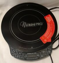 Nuwave Pic Pro 1800w induction cooktop 12 2in